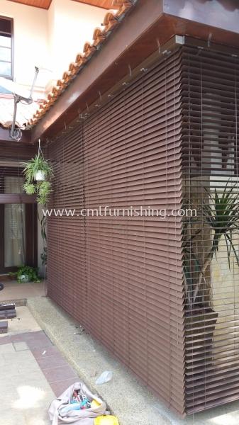 wooden-blinds-outdoor outdoor venetian blinds Kuala Lumpur, KL, Malaysia Supplier, Manufacturer | CML Furnishing Sdn Bhd