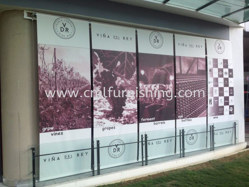 outdoor-roller-blinds with-logo 1 outdoor roller blinds Kuala Lumpur, KL, Malaysia Supplier, Manufacturer | CML Furnishing Sdn Bhd