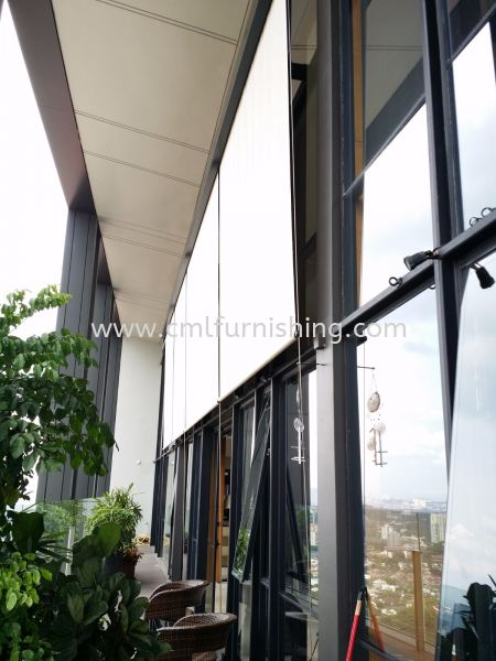 balcony-roller-blinds outdoor roller blinds Kuala Lumpur, KL, Malaysia Supplier, Manufacturer | CML Furnishing Sdn Bhd