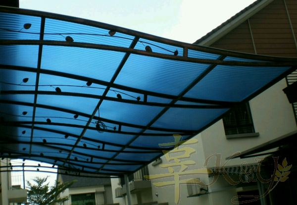 Wrought Iron Polycarbonate Skylight Skylight Selangor, Malaysia, Kuala Lumpur (KL), Semenyih Service, Contractor, Supplier, Supply | K & Y Awning Renovation