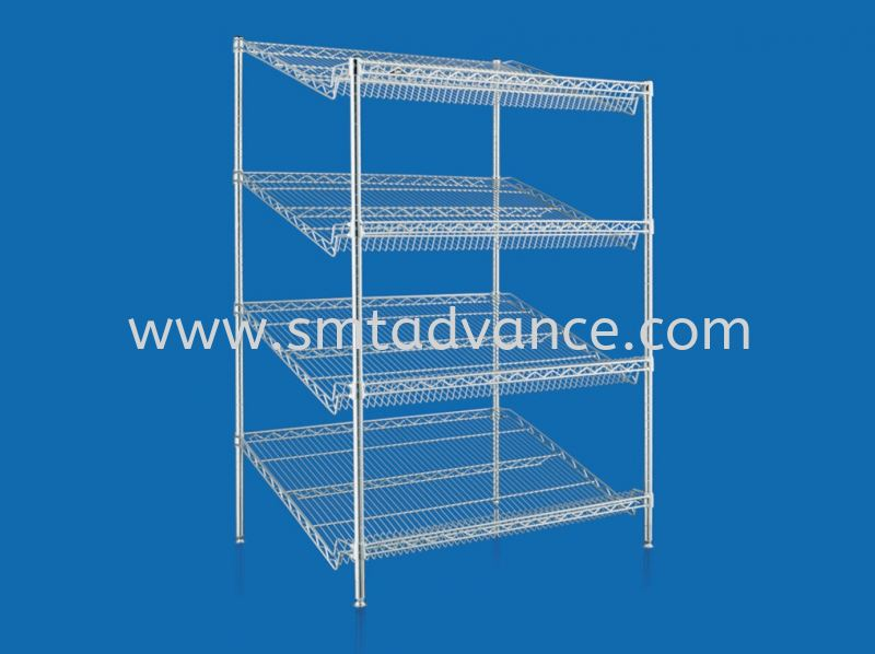 Slanted Shelving Slanted Shelving  Special Applications Malaysia, Penang Manufacturer, Supplier, Supply, Supplies | SMT System Metal Technology Sdn Bhd