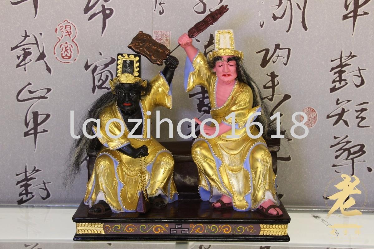 12''坐棺椅大二爷伯 (正金箔) 大二爷伯 木雕 神像 柔佛,新山,乌鲁地南,马来西亚,高雅,实达英达 供应商,供应 | Perentis Enterprise (HQ) Sdn Bhd