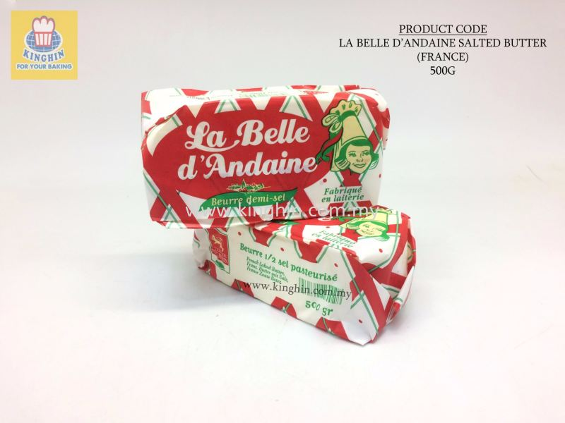La Belle D'andaine Salted Butter (FRANCE) 500G Butter Butter and Margerine Melaka, Malaysia Supplier, Suppliers, Supply, Supplies | Kinghin Sdn Bhd