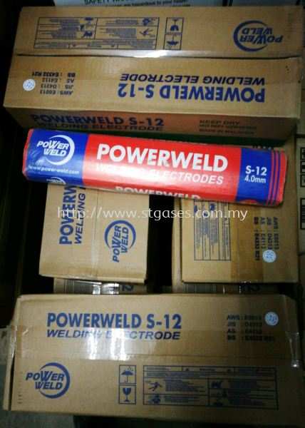 Powerweld Welding Electrodes Powerweld Welding Electrodes Welding Consumables Kuala Lumpur (KL), Malaysia, Selangor Supplier, Suppliers, Supply, Supplies | ST Gases Trading Sdn Bhd