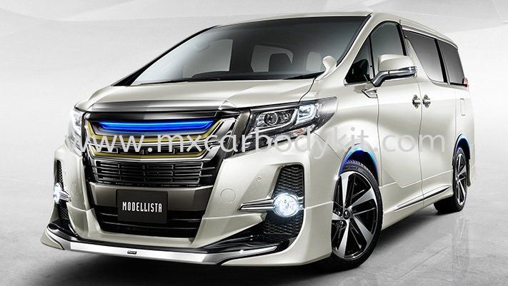 TOYOTA ALPHARD 30 2015 & ABOVE MODELLISTA AEROKIT FOR AERO BODY  ALPHARD 30 2015  TOYOTA Johor, Malaysia, Johor Bahru (JB), Masai. Supplier, Suppliers, Supply, Supplies | MX Car Body Kit