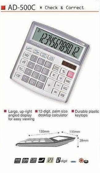 AD-500C Desktop Electronic Calculator Calculator Malaysia, Selangor, Kuala Lumpur (KL), Bangi, Kedah, Sungai Petani, Alor Setar Supplier, Supply, Supplies, Wholesaler | Olim Souvenirs Sdn Bhd
