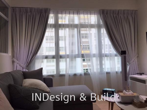 Curtain Johor Bahru (JB), Johor Jaya, Rosmerah Supplier, Supply, Contractor, Service | Indesign & Build Sdn Bhd