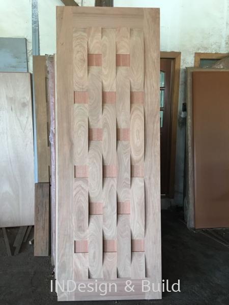 Wooden Door Johor Bahru (JB), Johor Jaya, Rosmerah Supplier, Supply, Contractor, Service | Indesign & Build Sdn Bhd