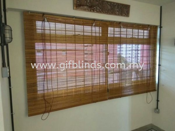 Indoor Bamboo Blinds Outdoor (Indoor) Bamboo Blinds Outdoor (Indoor) Bamboo Blinds Johor Bahru, JB, Johor, Malaysia. Supplier, Suppliers, Supplies, Supply | GIF Blinds (M) Sdn Bhd