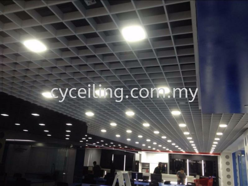 Aluminium Cell Ceiling  Selangor, Malaysia, Kuala Lumpur (KL), Puchong Contractor, Supplier, Supply | CY Ceiling & Renovation