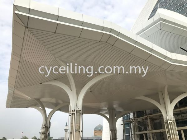 Aluminum Strip Ceiling  Aluminium Strip Ceiling  Selangor, Malaysia, Kuala Lumpur (KL), Puchong Contractor, Supplier, Supply | CY Ceiling & Renovation