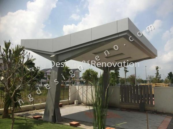 Car Porch / Garage Extension Extension Works Klang, Selangor, Kuala Lumpur (KL), Malaysia Renovation, Contractor, Company, Service | Ng Design & Renovation