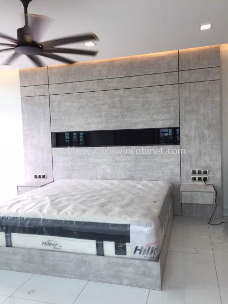 Bed Head Panel  Build-in-Cabinet Other Cabinet Kuala Lumpur (KL), Malaysia, Selangor, Bukit Jalil Supplier, Supply, Supplies, Design | View In Cabinet Design Sdn Bhd