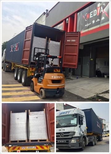 VERTAC 40ft container Shipment Arrived