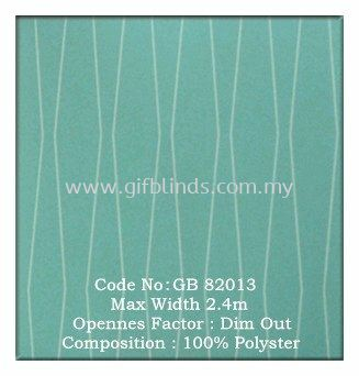 Dim Out Roller Blinds Sample GB82013 Dim Out Roller Blinds Sample GB82011-14 Roller Blinds Johor Bahru, JB, Johor, Malaysia. Supplier, Suppliers, Supplies, Supply | GIF Blinds (M) Sdn Bhd