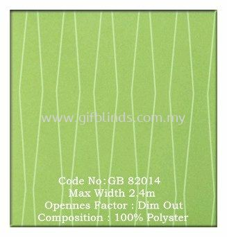 半遮光卷帘样本 GB82014 半遮光卷帘样本 GB82011-14 卷帘   Supplier, Suppliers, Supplies, Supply | GIF Blinds (M) Sdn Bhd