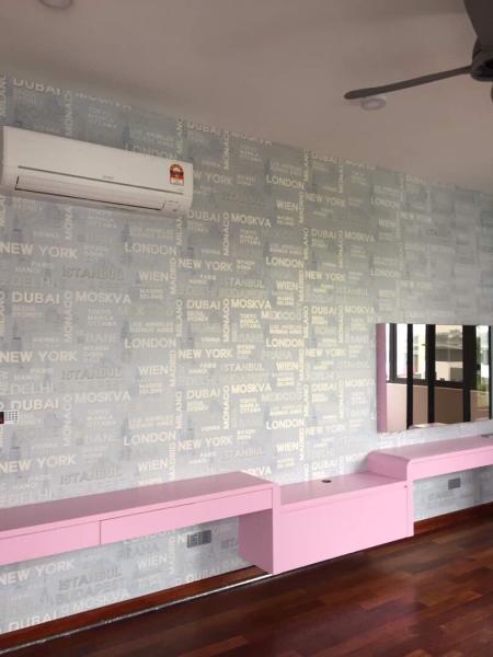 Horizon Hill Wallpaper  Johor Bahru (JB), Malaysia, Tampoi Supplier, Suppliers, Supplies, Supply | Kim Curtain Design Sdn Bhd
