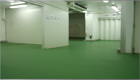 Finishes Polyurethane (QB Food) Cold Room & Freezers Selangor, Malaysia, Kuala Lumpur (KL), Singapore, Puchong Services, Specialist | Trion Industrial Services Sdn Bhd