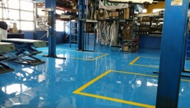 Epoxy Mortar with Self Smoothing Epoxy Selangor, Malaysia, Kuala Lumpur (KL), Singapore, Puchong Services, Specialist | Trion Industrial Services Sdn Bhd