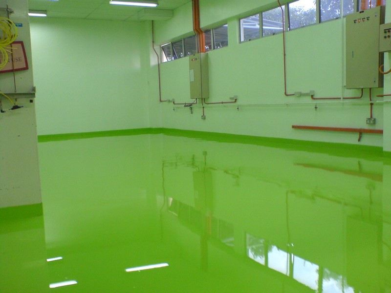 Epoxy Self-Smoothing  Selangor, Malaysia, Kuala Lumpur (KL), Singapore, Puchong Services, Specialist | Trion Industrial Services Sdn Bhd