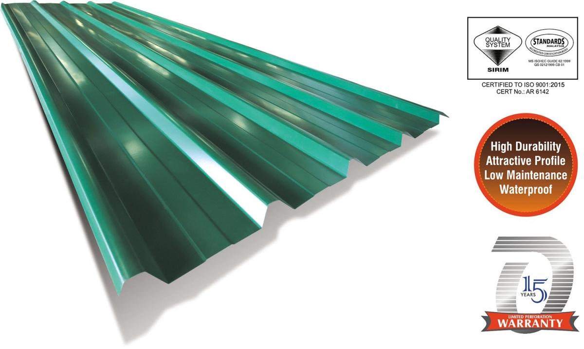 Metaldek®26 Drill & Screw Roof Panel Metal Roof Panel Profiles Johor Bahru (JB), Malaysia, Tebrau Manufacturer, Maker, Supplier, Supply | Overseametal Sdn Bhd