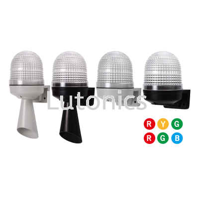 MW86M Series - D86mm Wall Mounting LED 3 Colors in 1 Signal Light (Multi Sound) Signal lights  Indicating lights Menics Products Selangor, Malaysia, Kuala Lumpur (KL), Puchong Supplier, Suppliers, Supply, Supplies   Lutonics Sdn Bhd