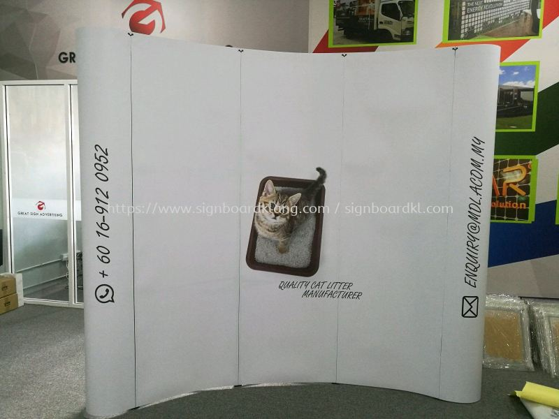 Pop Up system display Display System Selangor, Malaysia Supply, Manufacturers, Printing | Great Sign Advertising (M) Sdn Bhd