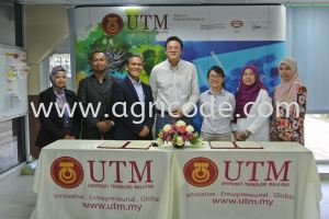UNIVERSITY TECHNOLOGY MALAYSIA & AGRICODE GREEN SDN BHD MOU CEREMONY