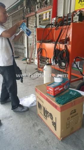 Terima kasih boss support MOSTAR MIG MW2000 & WEI LI.
