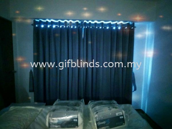 Rod with Eyelat Curtain Fabric Black Out Curtain Johor Bahru, JB, Johor, Malaysia. Supplier, Suppliers, Supplies, Supply | GIF Blinds (M) Sdn Bhd