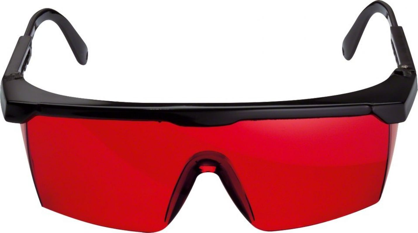 Laser viewing glasses (red) Professional ID555955