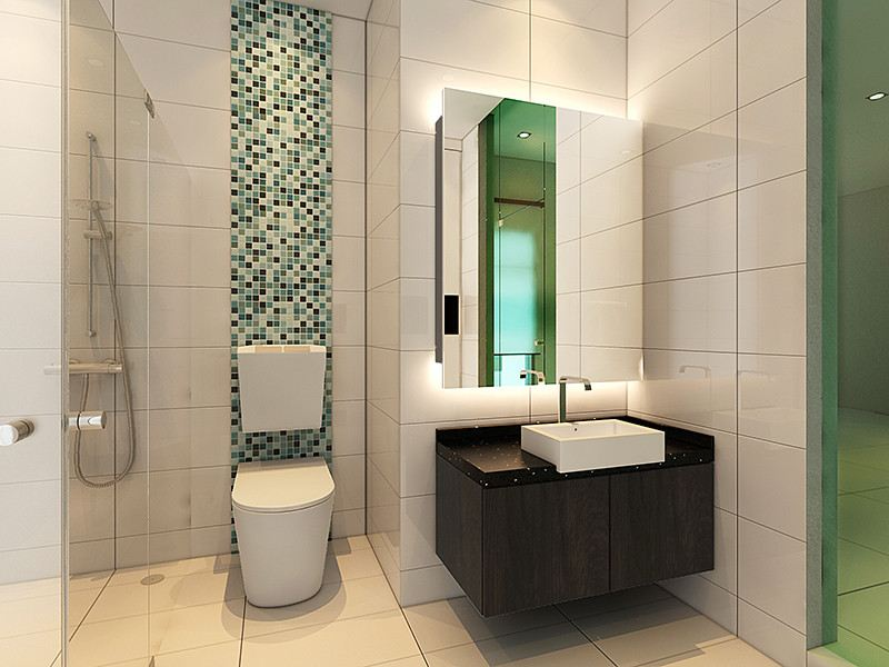 Triple Storey Bathroom Design Johor Bahru (JB), Skudai Services, Contractor | Infinity Design & Build