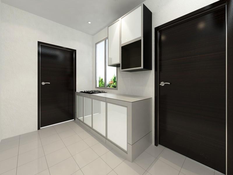 Wet Kitchen Design Kitchen Design Johor Bahru (JB), Skudai Services, Contractor | Infinity Design & Build