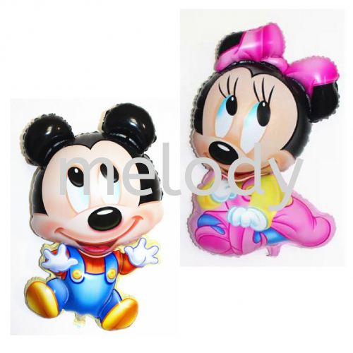 Foil 92*55cm Baby Mickey and Minnie