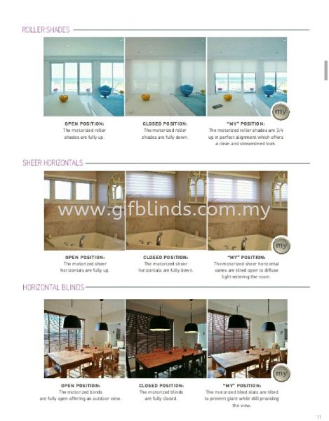 Motorised Roller Blinds Motorised Roller Blinds Johor Bahru, JB, Johor, Malaysia. Supplier, Suppliers, Supplies, Supply | GIF Blinds (M) Sdn Bhd