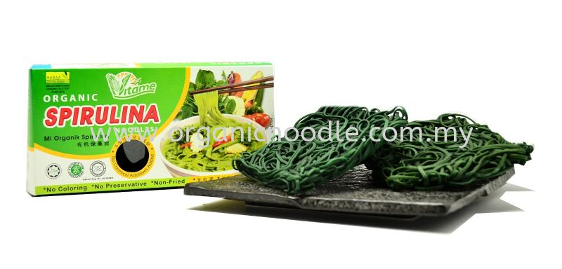Vitame Organic Steam Noodle - Spirulina VITAME Steam Noodles Organic Noodles Malaysia, Kedah, Sungai Petani Supplier, Manufacturer, Supply, Supplies | Everprosper Food Industries Sdn Bhd