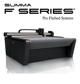 Summa F-SERIES FLATBED CUTTING SYSTEM