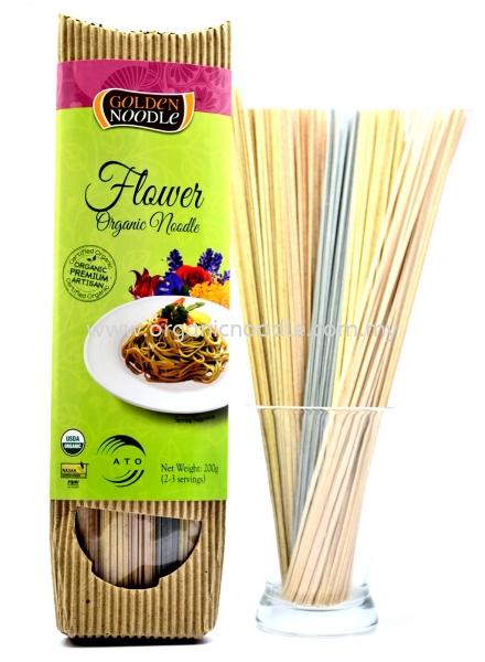 GN Org Flower Noodle GOLDEN NOODLE Stick Noodles Organic Noodles Malaysia, Kedah, Sungai Petani Supplier, Manufacturer, Supply, Supplies | Everprosper Food Industries Sdn Bhd