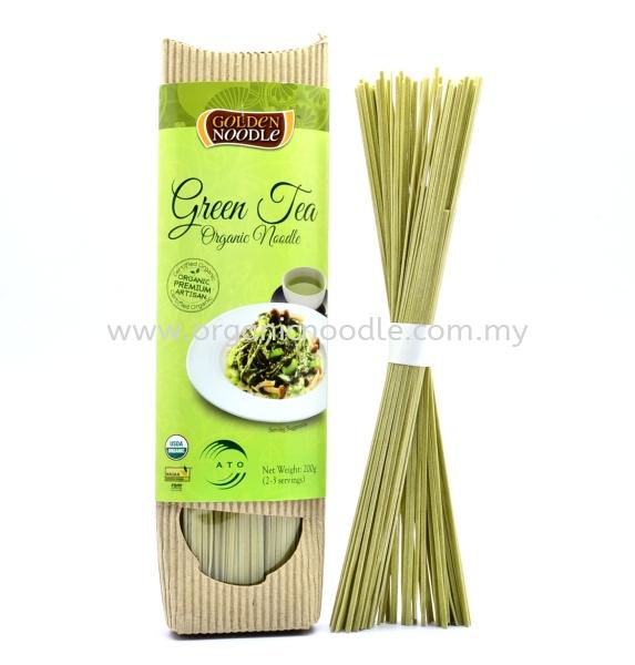 GN Organic Green Tea Stick Noodle 200g GOLDEN NOODLE Stick Noodles Organic Noodles Malaysia, Kedah, Sungai Petani Supplier, Manufacturer, Supply, Supplies | Everprosper Food Industries Sdn Bhd