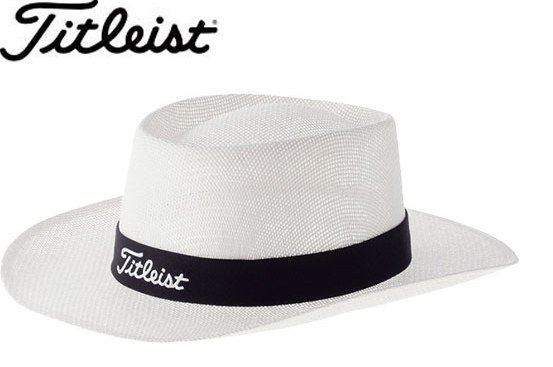 Buy Titleist white straw hat HJ6HST product online adb9eaff00e