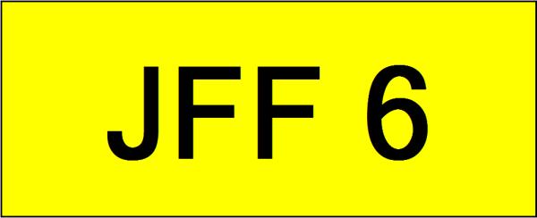 JFF6 VVIP Plate Johor Bahru (JB), Kuala Lumpur, KL, Malaysia. Service   AAA Premium Sdn Bhd