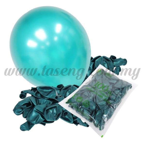 12 inch Metallic Balloon -Emerald Green 100pcs (B-MR12-872P) 12inch Metallic Round Balloon  Balloon Kuala Lumpur (KL), Malaysia, Selangor, Batu Caves Supplier, Suppliers, Supply, Supplies | Taseng Marketing Sdn Bhd