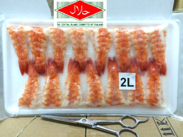Sushi Ebi / Shrimp for Sushi Topping (Halal Certified) Seafoods Singapore Supplier, Distributor, Importer, Exporter | Arco Marketing Pte Ltd