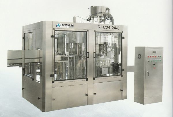 RFC-Non Carbonated Beverages Filling Line Series HANLIN Auto 3 IN 1 Rinsev Filler Capper Series Selangor, Malaysia, Kuala Lumpur (KL), Semenyih Supplier, Suppliers, Supply, Supplies | Founder Machinery (M) Sdn Bhd