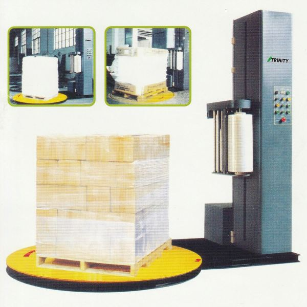 Auto Pre Stretch Pallet Wrapping Machine TRINITY Auto Pre Stretch Pallet Wrapping Machine Selangor, Malaysia, Kuala Lumpur (KL), Semenyih Supplier, Suppliers, Supply, Supplies | Founder Machinery (M) Sdn Bhd