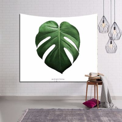 TAPESTRY WALL HANGING - TROPICAL LEAVES 103