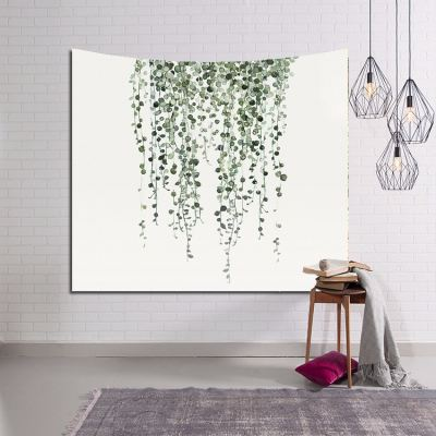 TAPESTRY WALL HANGING - TROPICAL LEAVES 106