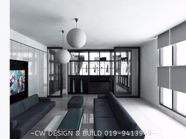 Soho Design @ 3 Elements, Seri Kembangan, Malaysia Soho Interior Design Residential Design Selangor, Malaysia, Balakong, Kuala Lumpur (KL) Services, Design, Renovation, Company | CW Design & Build Sdn Bhd
