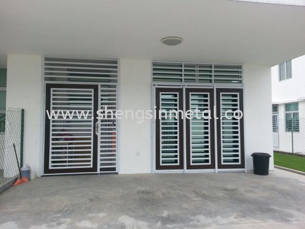 Both Side Open Door Metal Work Johor Bahru, JB, Skudai, 仟表 Design, Installation, Supply | Sheng Sin Metal Work & Enterprise
