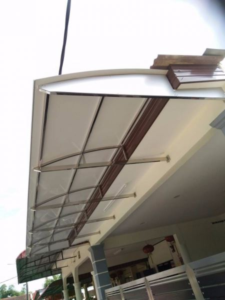 ACP Skylight Polycarbonate / Glass Skylight Melaka, Malaysia, Durian Tunggal Installation, Services, Supplier, Specialist | J & V Steel Engineering Works